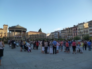 Plaza del Castillo - Pamploma