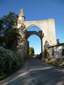 Entrance to Castrojeriz