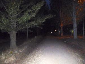 Leaving Sahagun before dawn