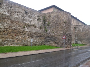 Old Roman wall section - Leon
