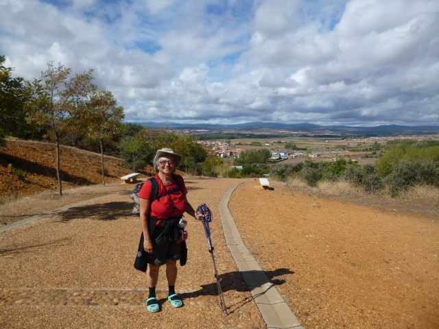 Approaching Astorga (I think!)