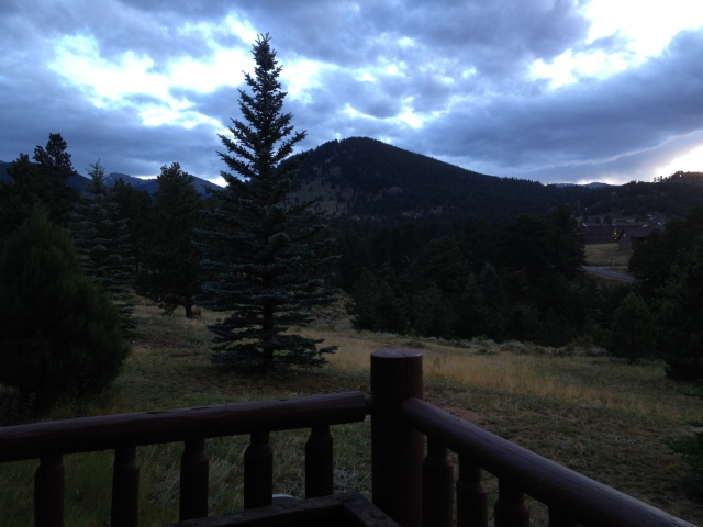 From the Porch at Barclay Lodge