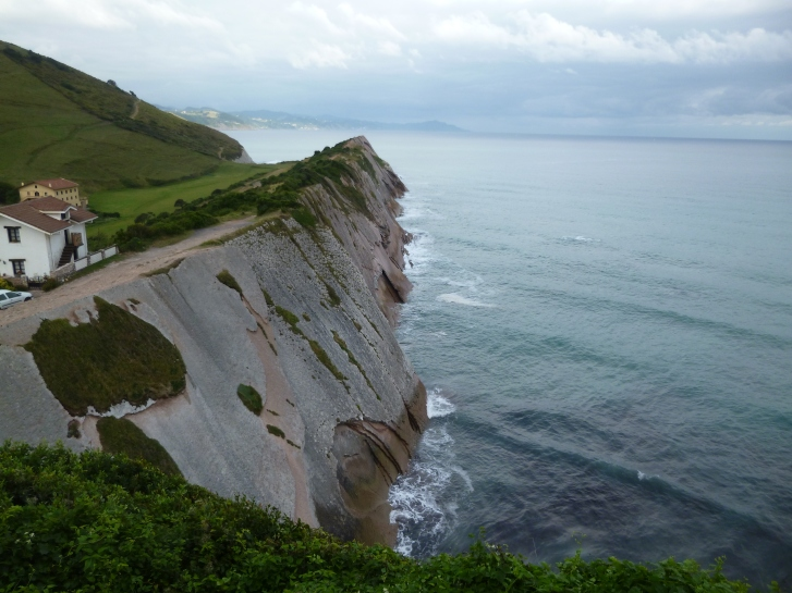 The coastal way out of Zumaia