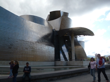 The Guggenheim - Bilbao, Spain