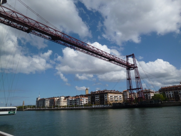 The World Heritage site, the Puenta Colganta de Portugalete
