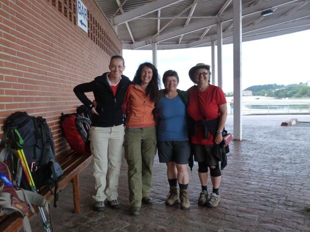 Adriana, Erika, Ria and Joannah - San Vicente de la Barquera