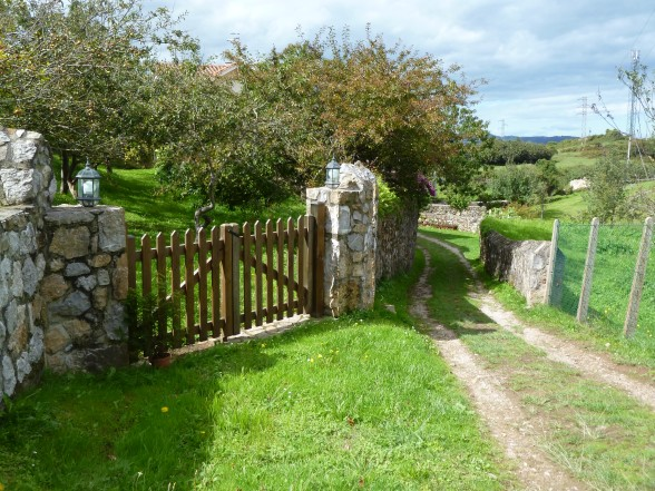 One of my favorite sites . . . a pretty gate to somewhere