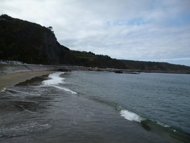 The sea's edge in Luarca
