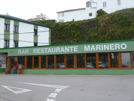 A very good seaside restaurant in Ribadeo