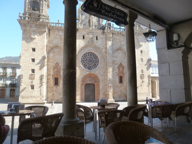 The Monodeño Cathedral, from our bar patio