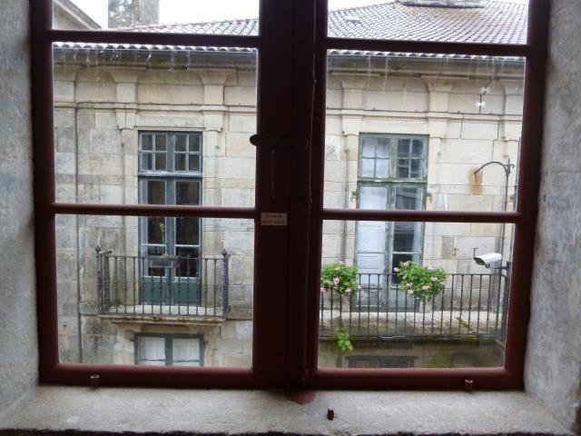 I wonder who lives behind these windows?
